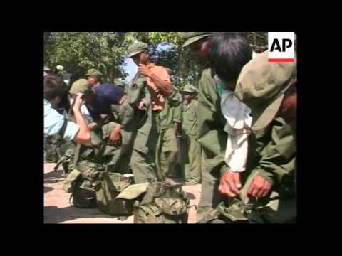 CAMBODIA: FORMER KHMER ROUGE REBELS CEREMONY UPDATE