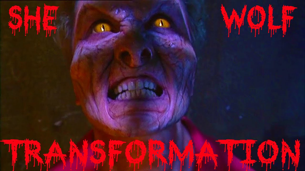 Woman Werewolf Transformation - YouTube