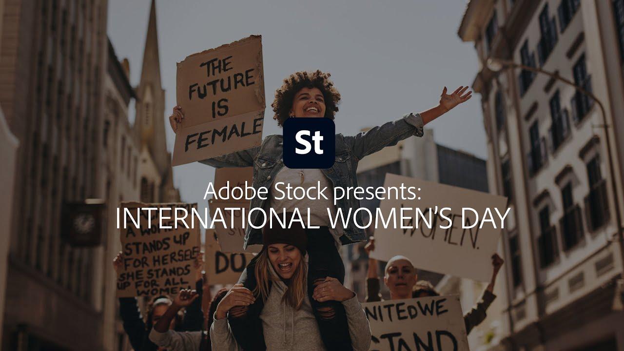 International Women's Day from Adobe Stock | Adobe Creative Cloud