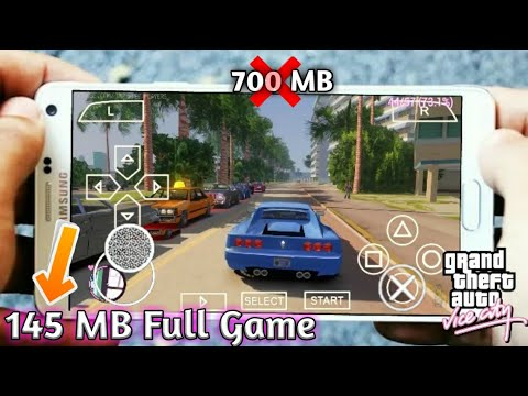 {145 MB} GTA Vice City Full Game For Android (psp) 2018 [Must Watch]