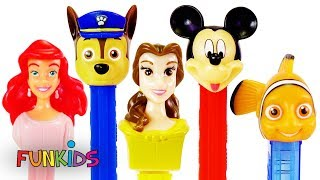 Paw Patrol Pez Candy Dispensers -  Learn Numbers & Colors