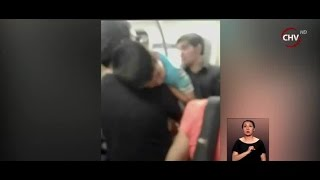 Pasajeros no cedieron el asiento a padre que cargaba a su hijo - CHV Noticias