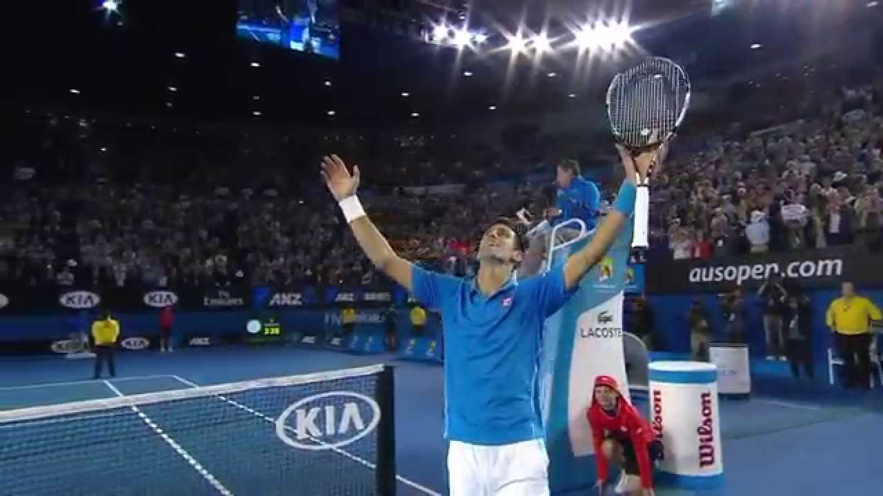 Djokovic V Murray Final Highlights Australian Open 2015 Youtube