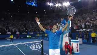 Djokovic v Murray final highlights - Australian Open 2015