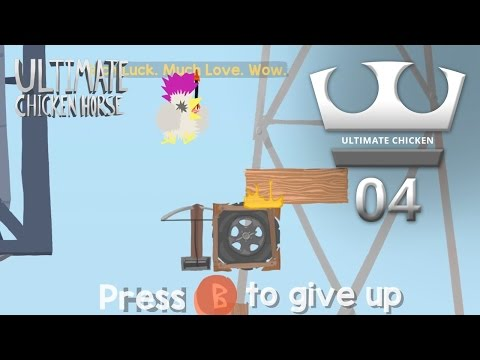 Jirka, GEJMR a Marwex Hraje - Ultimate Chicken Horse 04