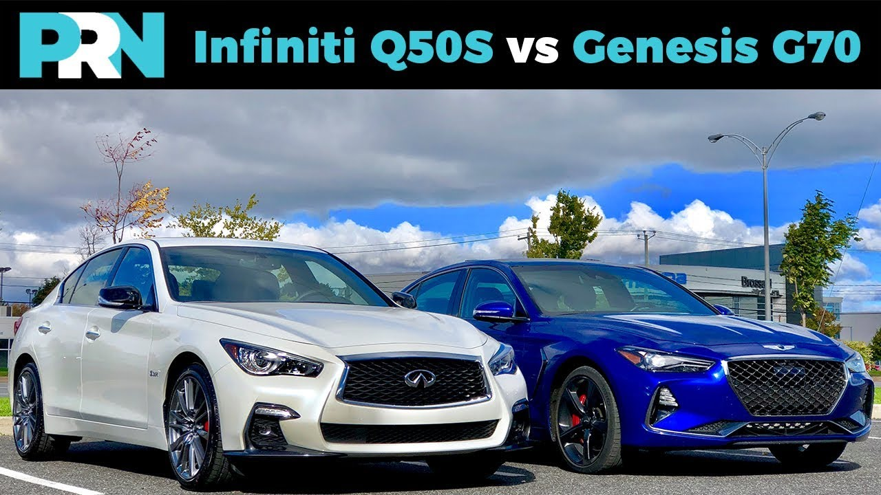 Infiniti Q50s 400 Vs Genesis G70 3 3t Sport Testdrive Showdown