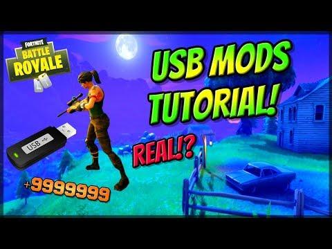 Fortnite: Battle Royale USB MOD MENU AIMBOT! XBOX, PS4, PC! Fortnite Hacks (WORKING 2018! OR FAKE?)