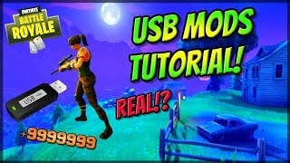 Fortnite: Battle Royale USB MOD MENU AIMBOT! XBOX, PS4, PC! Fortnite Hacks (WORKING 2018! OR FAKE?)