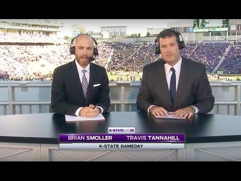 Travis Tannahill Broadcasting Kansas State vs. Texas Tech 10/08/2016