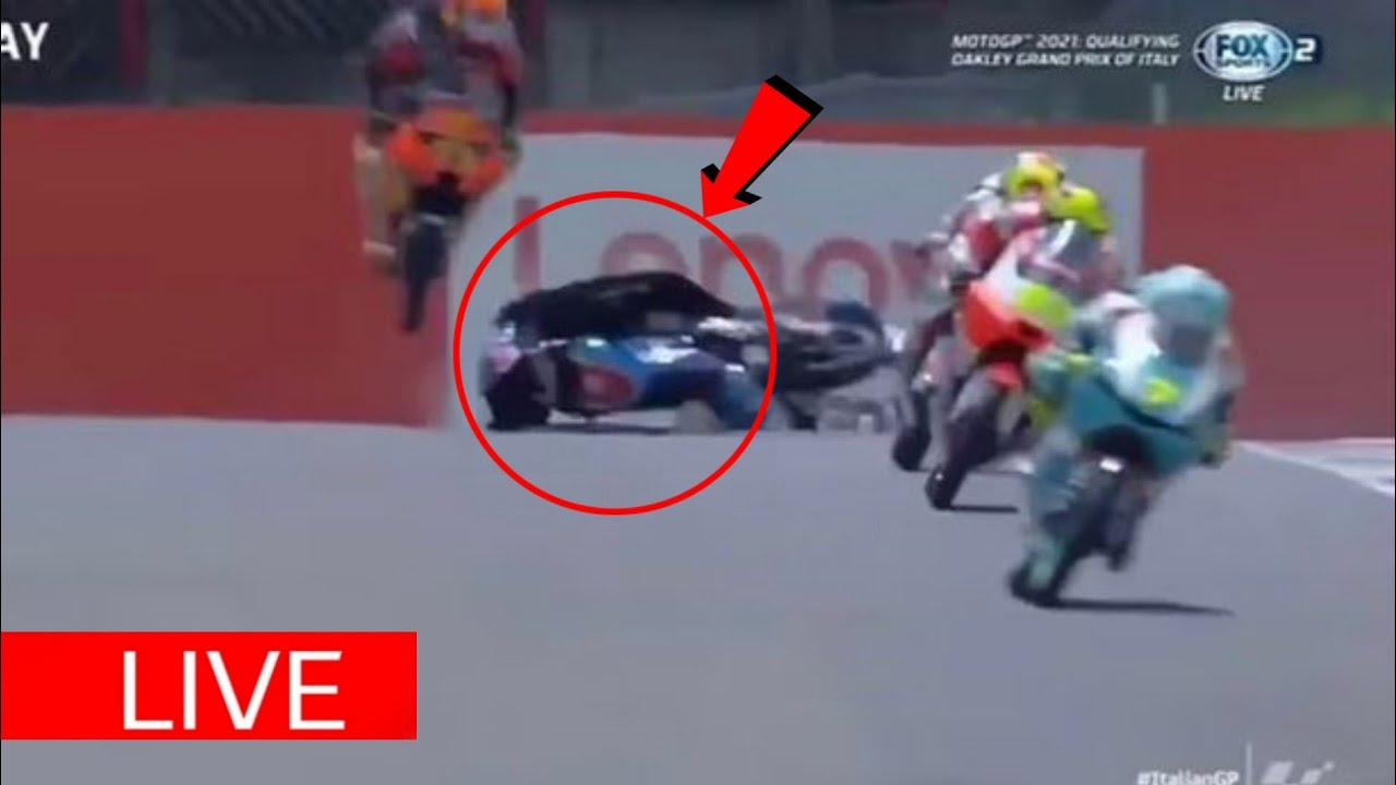 Jason Dupasquier Accident Video: 19-year-old Moto3 rider crashes during race