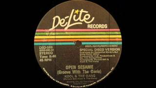 Kool & The Gang - Open Sesame (Groove With The Genie) De-Lite Records 1976