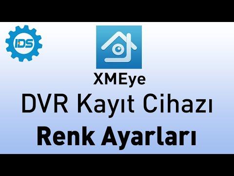DVR Kayıt Cihazı Renk Ayarları Nasıl Yapılır? - XMEYE