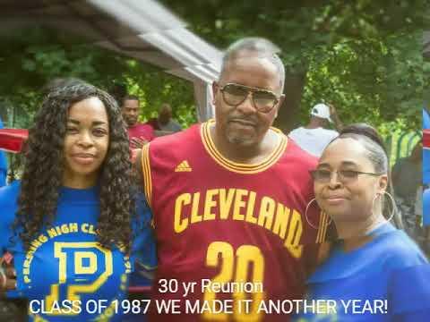 My dedication to: Detroit's Pershing High School Class of 1987 30yr Class REUNION