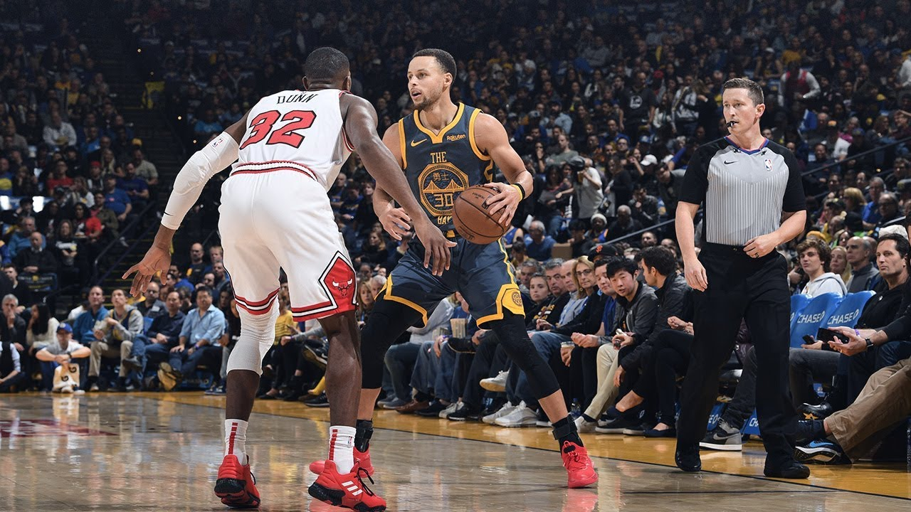 4a792138ca6 Sounds of the Game  Warriors vs. Bulls - 1 11 19 - YouTube