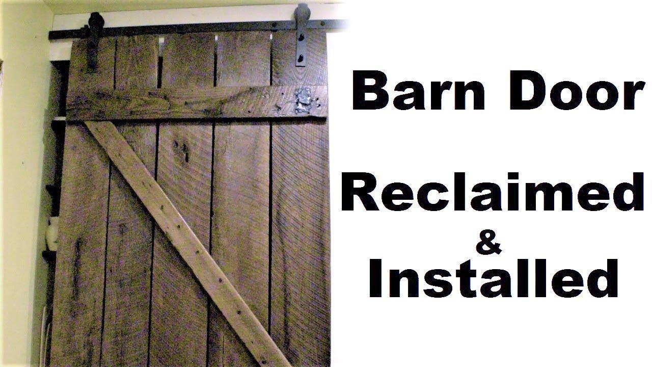 Barn Door Hardware Installation Making A Sliding Pantry Door From