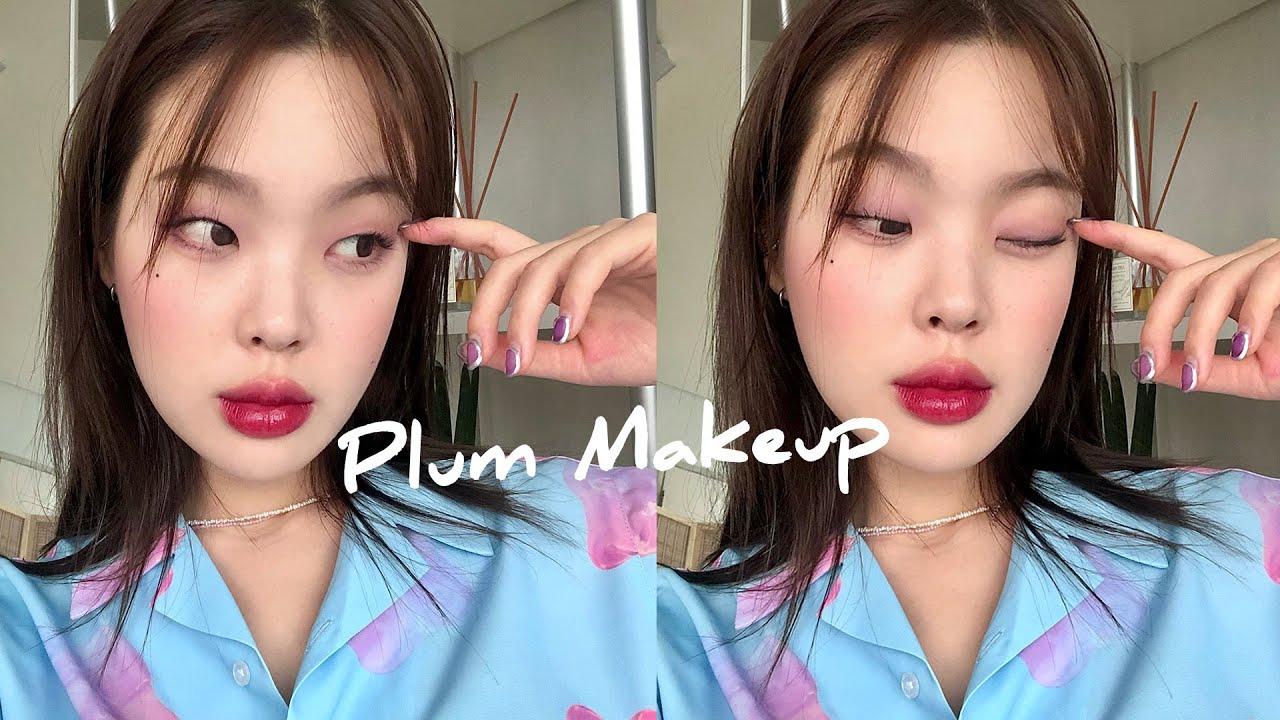 (Eng Espñ) 마스크 묻지 않는! 여름 메이크업 GRWM 🍇 Mask-proof makeup