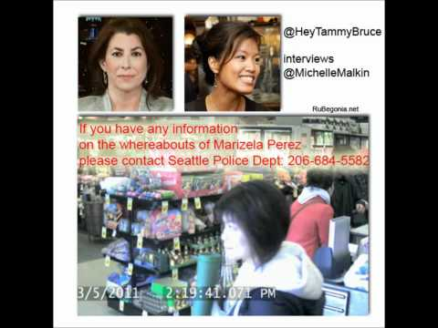 Tammy Bruce interviews Michelle Malkin about her missing cousin Marizela 03/17/11