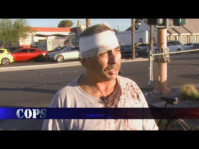 Crossed Walk, Web Exclusive, COPS TV SHOW