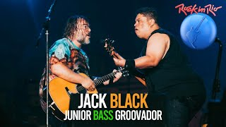 Tenacious D com Jack Black  e Junior Groovador no Rock In Rio
