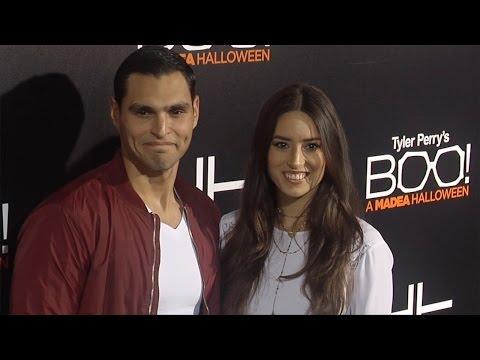 "Christian Ochoa & Rebecca Valera ""Boo! A Madea Halloween"" Premiere Black Carpet"