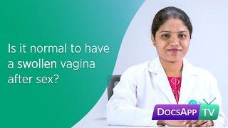 Inflamed vagina after sex