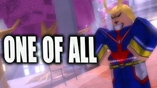 [NEW CODE] One For All in Boku No Roblox Remastered | Roblox My Hero Game | iBeMaine