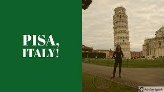 Solo Travel to Pisa, Italy!