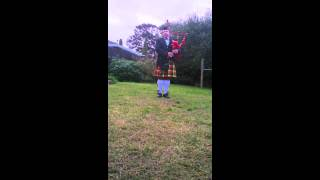 Last Post on Bagpipes.MP4