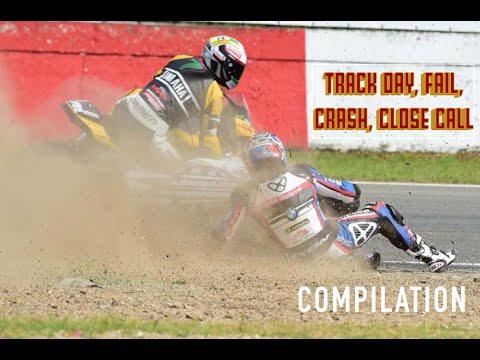 Track Day Fail, Crash, Close calls, Compilation Season 2016 Motorcycle video