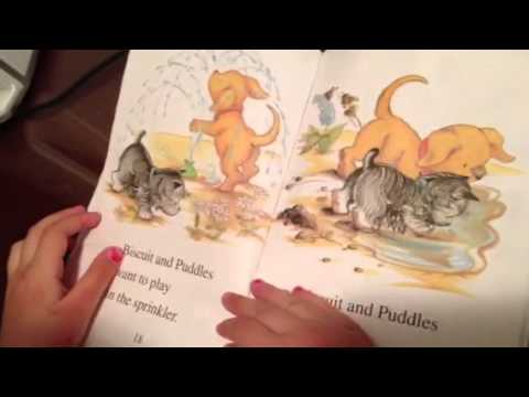 Bath time with biscuit - YouTube