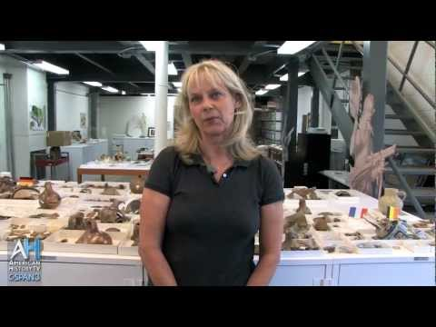 C-SPAN: American Artifacts Preview: Jamestown Archaeology Lab: Bly Straube