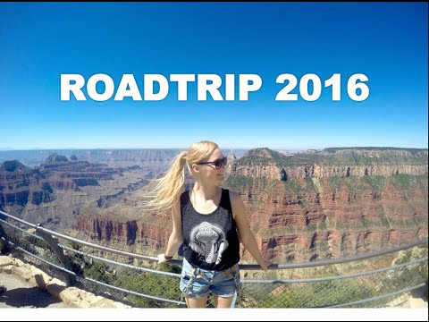USA Roadtrip 2016 - Los Angeles | Las Vegas | Grand Canyon - GoPro Hero 4 Silver HD