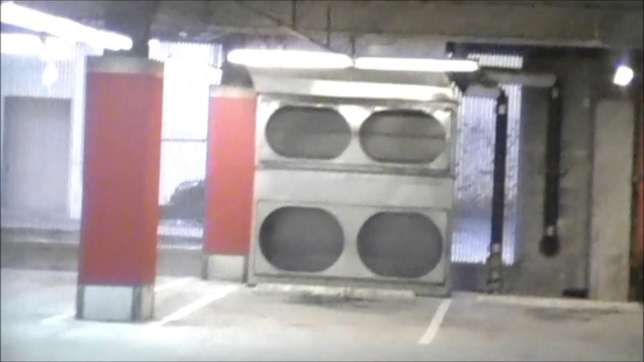 carbon monoxide in a parking garage - YouTube