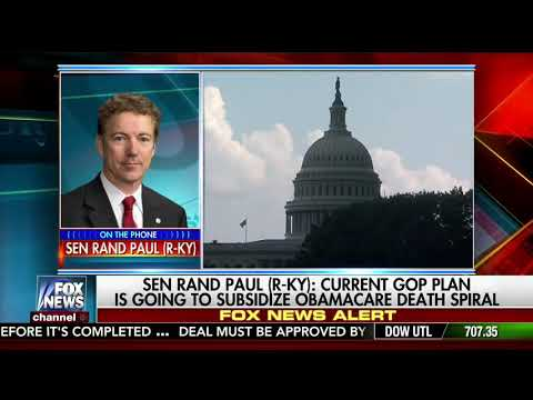 Donald Trump Supports Rand Paul