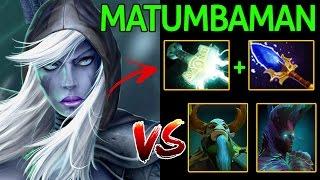 Matumbaman [Drow ranger] Insane Build Counter Hero Push Dota 2 7.05