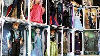 Disney Limited Edition Dolls Collection Tour - Villains, Fairies, Frozen, Cinderella