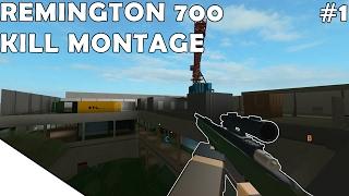 ROBLOX Phantom Forces - Remington 700 KILL MONTAGE #1