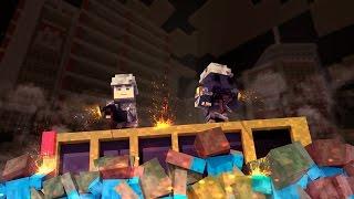 Minecraft | ZOMBIES VS HUMANS! (Good Vs Evil Challenge)