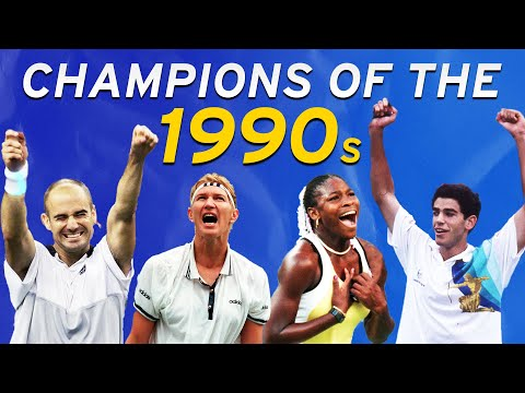 US Open Champions Of The 1990s