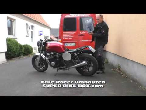 cafe racer honda seven fifty sitzbank eigenbau youtube