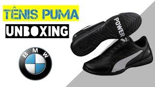 Unboxing Tênis Puma Bmw Mms Kart Cat Iii Netshoes/zattini
