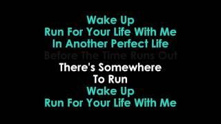 Run karaoke Foo Fighters