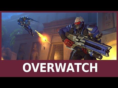 Overwatch: Classificate, Mercy e Nuova Mappa Junkertown - Gameplay ITA
