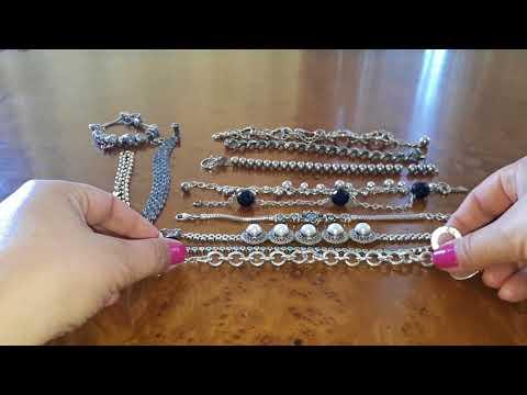 Мои серебряные браслеты. 💖
