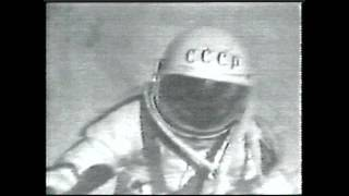 First Human Spacewalker Nearly Died In Space   Video