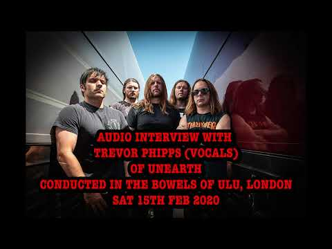 GBHBL Whiplash: Trevor Phipps (Vocals) of Unearth Interview
