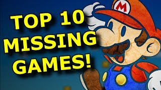 TOP 10 SNES Games Missing from Nintendo Switch!