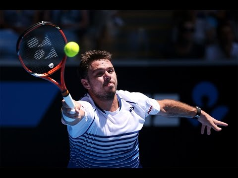 Stan Wawrinka vs Marius Copil Highlights HD Australian Open 2015