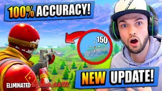 *NEW* 100% ACCURACY UPDATE in Fortnite: Battle Royale!