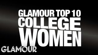 GLAMOUR'S TOP TEN COLLEGE WOMEN OF 2012
